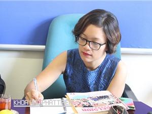 Cô giáo Nguyễn Bích Huyền - Trường THCS và THPT Tạ Quang Bửu: Với máy in 3D, giáo viên và học sinh đều sáng tạo hơn