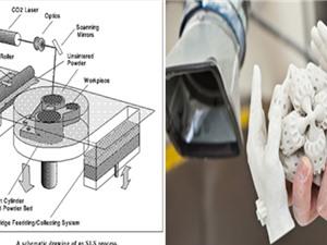 Công nghệ in SLS (Selective laser sintering) - công nghệ in 3D phổ biến trên thế giới