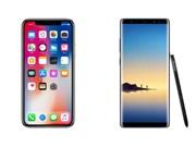 So sánh chi tiết iPhone X và Samsung Galaxy Note 8