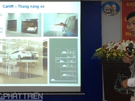 Việt Nam làm chủ công nghệ thiết kế, triển khai hệ thống bãi đỗ ôtô tự động