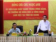 Hà Giang: Sẽ phát triển trọng tâm dược liệu và du lịch