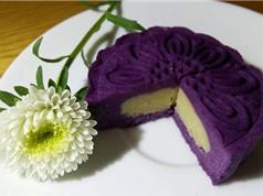 Clip: Cách làm bánh Trung thu khoai lang tím nhân đậu xanh không cần lò nướng