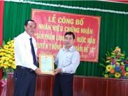 Bình Định: Thêm một làng nghề nước mắm được trao chứng nhận nhãn hiệu