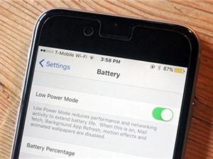 Hướng dẫn khắc phục lỗi hao pin trên iOS 11