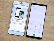 iPhone 8 Plus đọ dáng với Samsung Galaxy Note 8