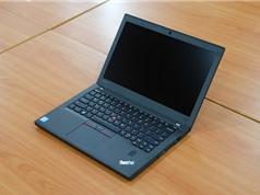 Cận cảnh laptop pin 21 tiếng của Lenovo