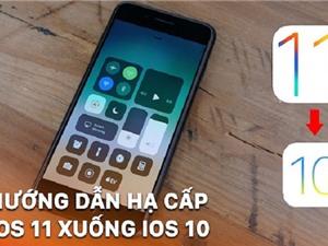 Hướng dẫn hạ cấp iOS 11 về lại iOS 10.3.3