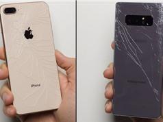 Clip: iPhone 8 Plus đọ độ bền với Samsung Galaxy Note 8