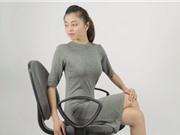 Clip: 7 bài tập giúp giải tỏa căng thẳng, mệt mỏi cho dân văn phòng