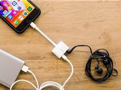 Apple bán adapter cho phép vừa nghe nhạc vừa sạc cho iPhone 7, iPhone 8