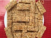 Clip: Công thức làm kẹo lạc truyền thống ngon miễn chê