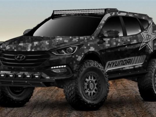 "Extreme Off-roader Santa Fe Sport Concept của Huyndai cực ""chất"""