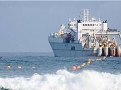Lắp xong tuyến cáp ngầm xuyên Đại Tây Dương