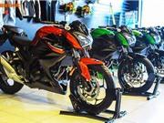 Cận cảnh Kawasaki Z300 ABS mới giá 139 triệu tại Việt Nam