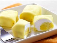 Công thức làm bánh crepe sầu riêng ngon mê ly