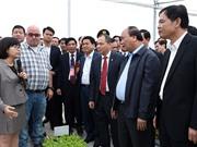 Hà Nam hướng trọng tâm phát triển nông nghiệp công nghệ cao