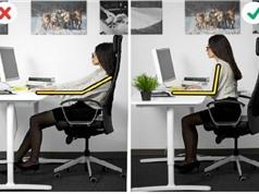 Clip: Hướng dẫn tư thế ngồi đúng khi làm việc với máy tính cho dân văn phòng