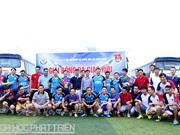 Đoàn viên thanh niên Bộ KH&CN giao lưu thể thao