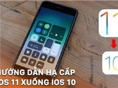 NHỮNG THỦ THUẬT HAY NHẤT TUẦN: Hạ cấp iOS 11 xuống iOS 10.3.3, khắc phục tình trạng iPhone không gửi được tin nhắn SMS