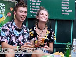 Bia hơi vỉa hè Hà Nội - trải nghiệm du lịch thời cách mạng 4.0