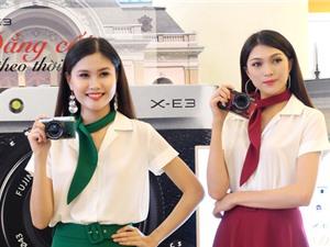 Cận cảnh Fujifilm X-E3 vừa ra mắt tại Việt Nam với giá 22 triệu đồng