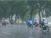Áp thấp nhiệt đới đi thẳng vào đất liền Hà Tĩnh - Quảng Bình