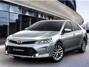 Toyota Việt Nam giới thiệu Camry 2017, giá từ 997 triệu đồng