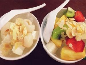 Clip: Bí quyết nấu chè khúc bạch trái cây thanh mát cho ngày oi bức