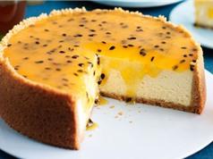 Clip: Học cách làm cheesecake chanh leo không cần lò nướng