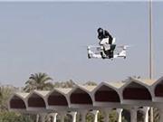 Clip: Cận cảnh mô hình xe máy bay tuần tra đường phố của cảnh sát Dubai