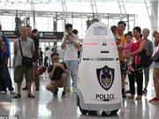 Robot cảnh sát sẽ tuần tra tại Bắc Kinh dịp Tết Nguyên đán