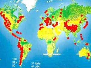 Trượt lở đất - loại thiên tai gây thiệt hại lớn thứ ba thế giới