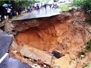 Trượt - lở đất xuất hiện do những nguyên nhân nào?