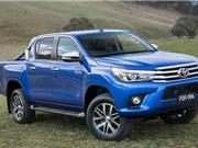 Doanh số Toyota Hilux tụt thê thảm tại Việt Nam