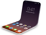 Ảnh dựng iPhone 2020 màn hình gập tuyệt đẹp