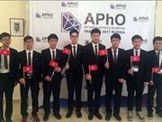 Việt Nam đăng cai tổ chức kỳ thi Olympic Vật lý Châu Á năm 2018
