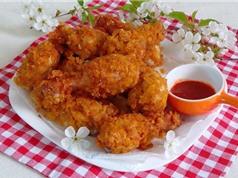 """""""Học lỏm"""" cách làm món gà rán KFC ngon như ngoài tiệm"""