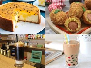Món ngon trong tuần: Sữa lắc vani và chocolate, chè khúc bạch trái cây, cơm bọc xúc xích chiên xù