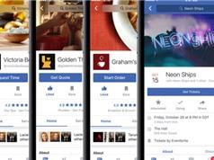 Facebook giới thiệu tính năng mới dành cho người mê ăn uống