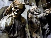 Bí mật những xác ướp trong hầm mộ Capuchin ở Italy