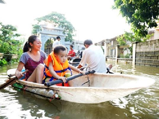 Khuyến cáo phòng bệnh mùa mưa lũ