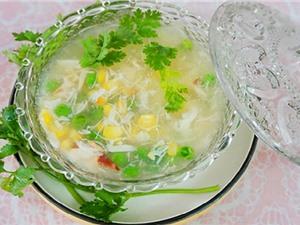 Clip: Cách nấu súp cua thơm ngon, bổ dưỡng cho trẻ biếng ăn