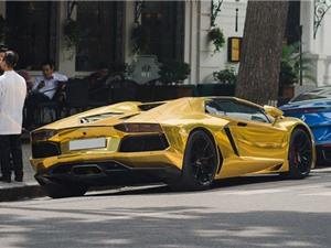Chiêm ngưỡng Lamborghini Aventador mui trần 26 tỷ tại Hà Nội