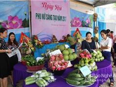 Nhiều nông sản sạch ở Đô Lương được giới thiệu ra thị trường