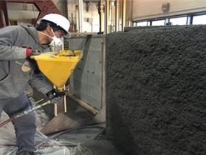 Bê tông dạng xịt, dẻo như thép có khả năng chống động đất