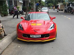 Ngắm Chevrolet Corvette C7 Z06 màu đỏ tại Nha Trang