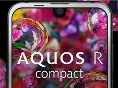 Sharp trình làng smartphone giống iPhone X, chống nước, chip S660