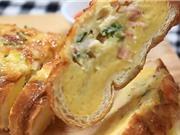 Clip: Công thức làm bánh mì nướng trứng phô mai ngon tuyệt cú mèo