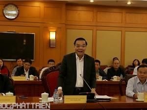 Ông Mai Tiến Dũng: Bộ KH&CN có quyết tâm rất cao trong việc cải cách