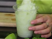 Clip: Cách làm sinh tố chanh tuyết ngon như ngoài quán